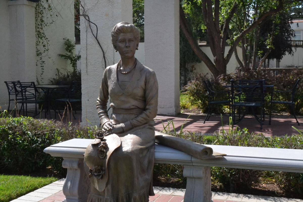 Julie Penrose bronze sculpture