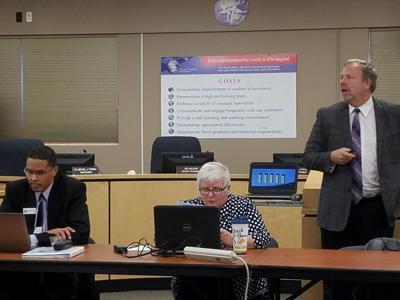 Colorado Springs School District 11 board work session