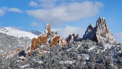 Forecast Chance Of Snow This Weekend In Colorado Springs