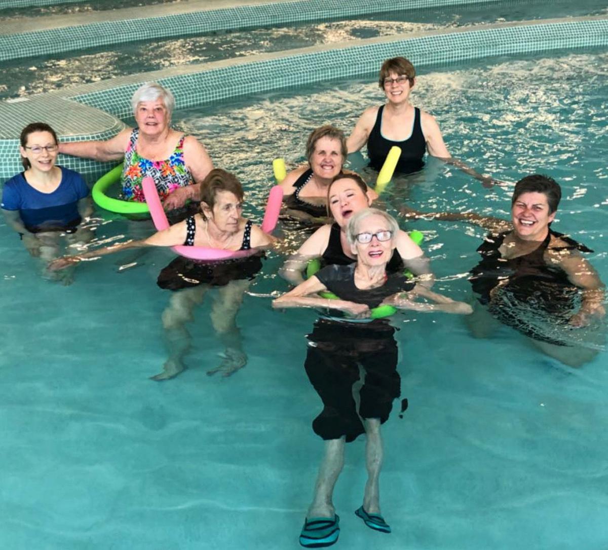 Teller County senior citizens Woodland Aquatic Center