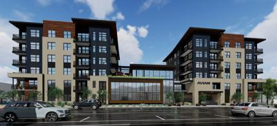 DOWNTOWN APARTMENT RENDERING