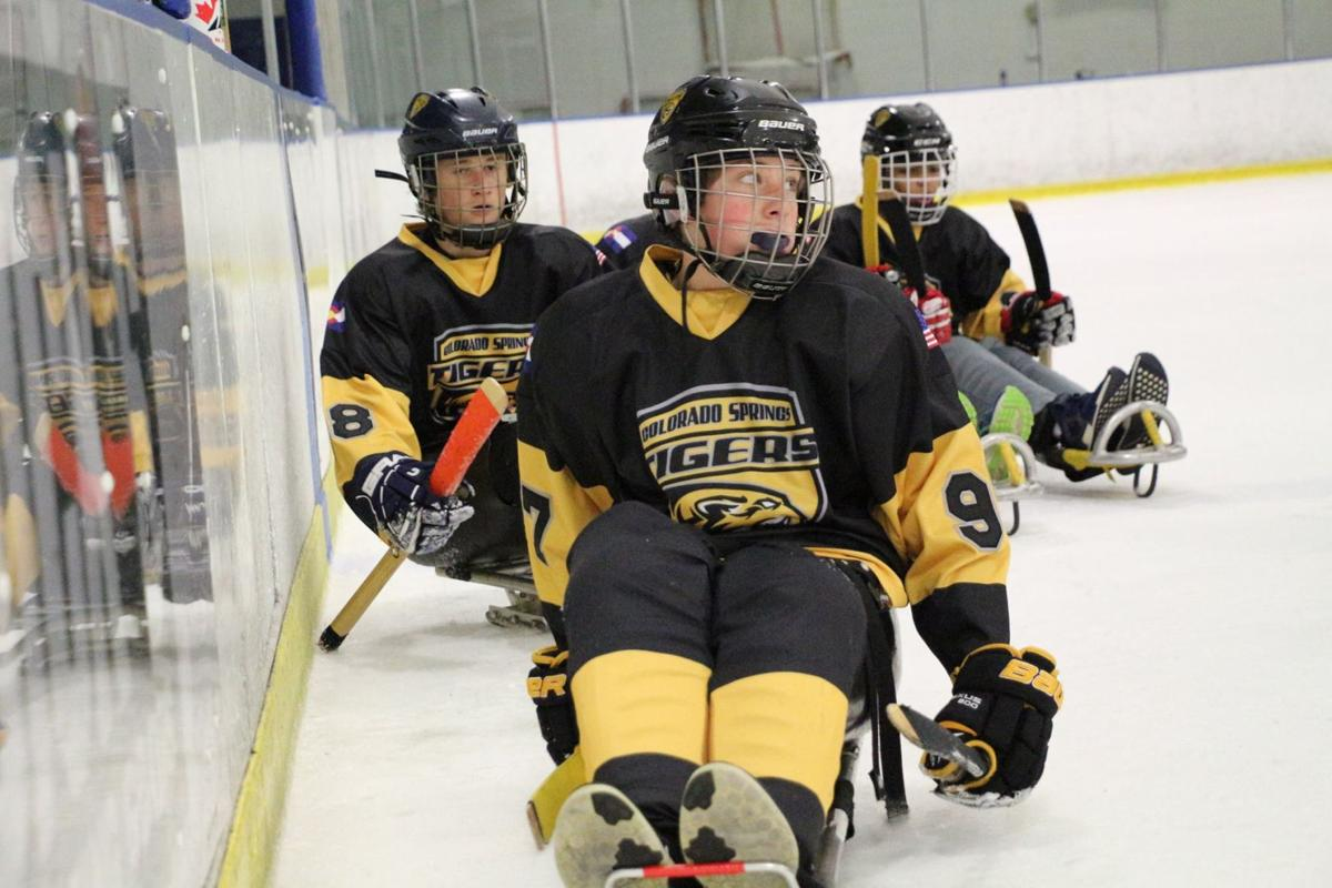 Colorado Springs Tigers adaptive hockey team.jpg