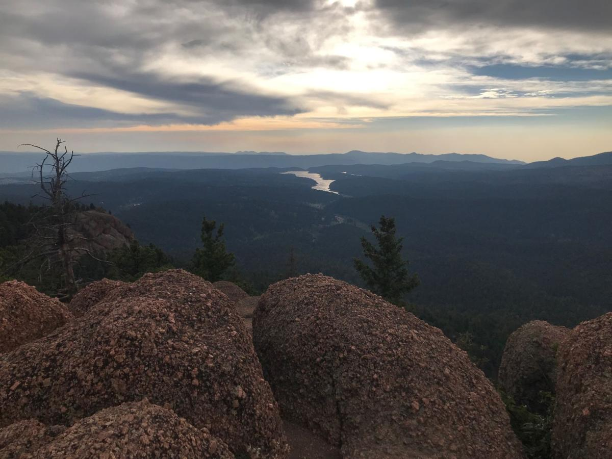 View of North Catamount Reservoir from Raspberry Mountain
