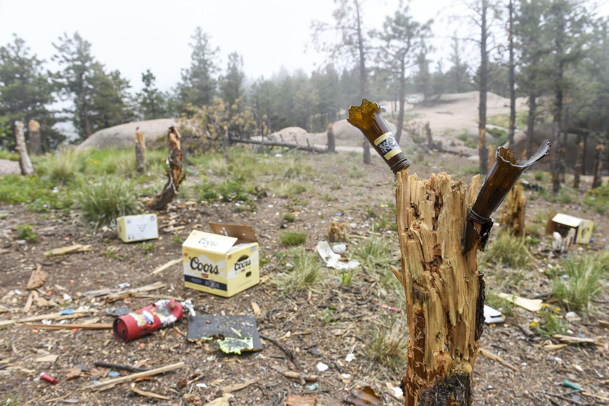 Forest Service bans recreational shooting in Mount Herman area