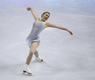 SubheadRamsey: Rachael Flatt enjoying her goodbye from competitive skating
