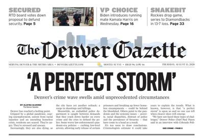 New Denver Online Newspaper Being Launched By Colorado Springs Gazette Owner Business Gazette Com