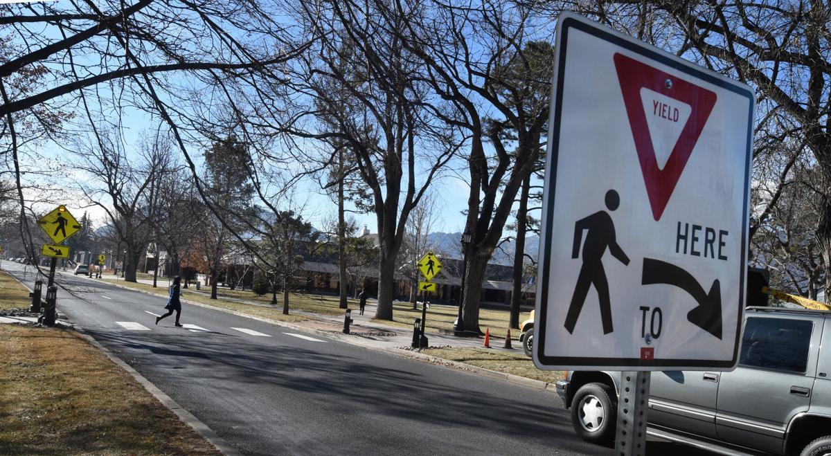 Colorado College crosswalk