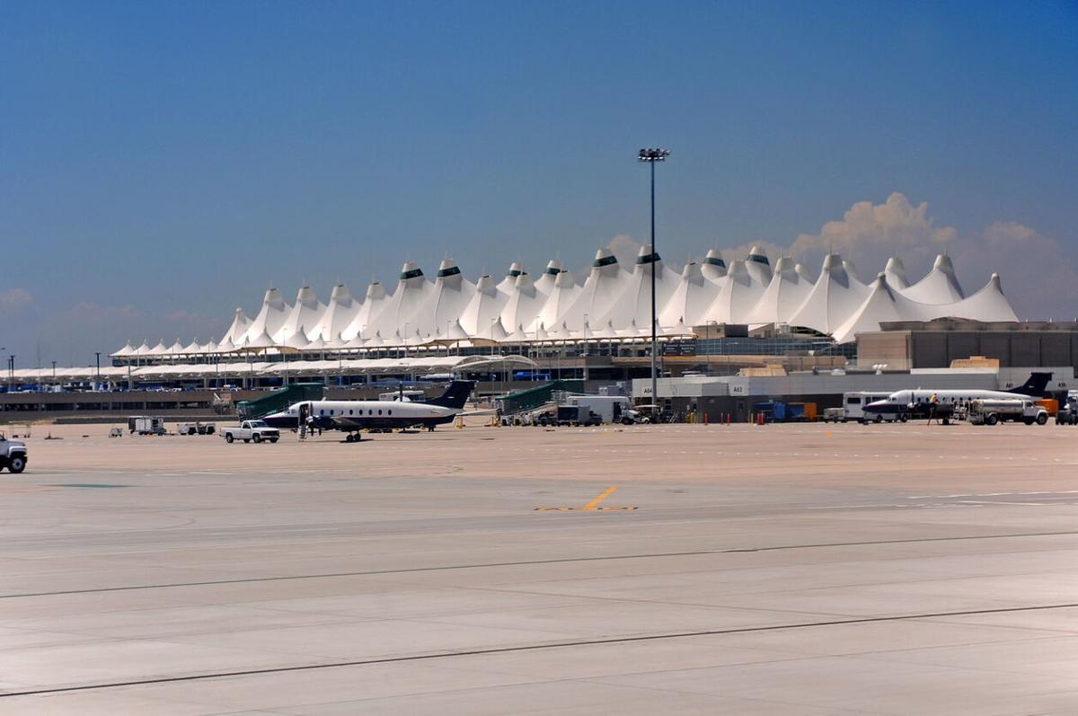 Denver airport DG