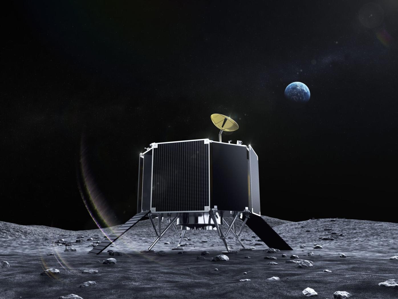 ispace lunar lander