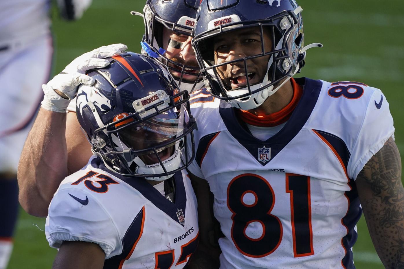Broncos Panthers Football Hamler
