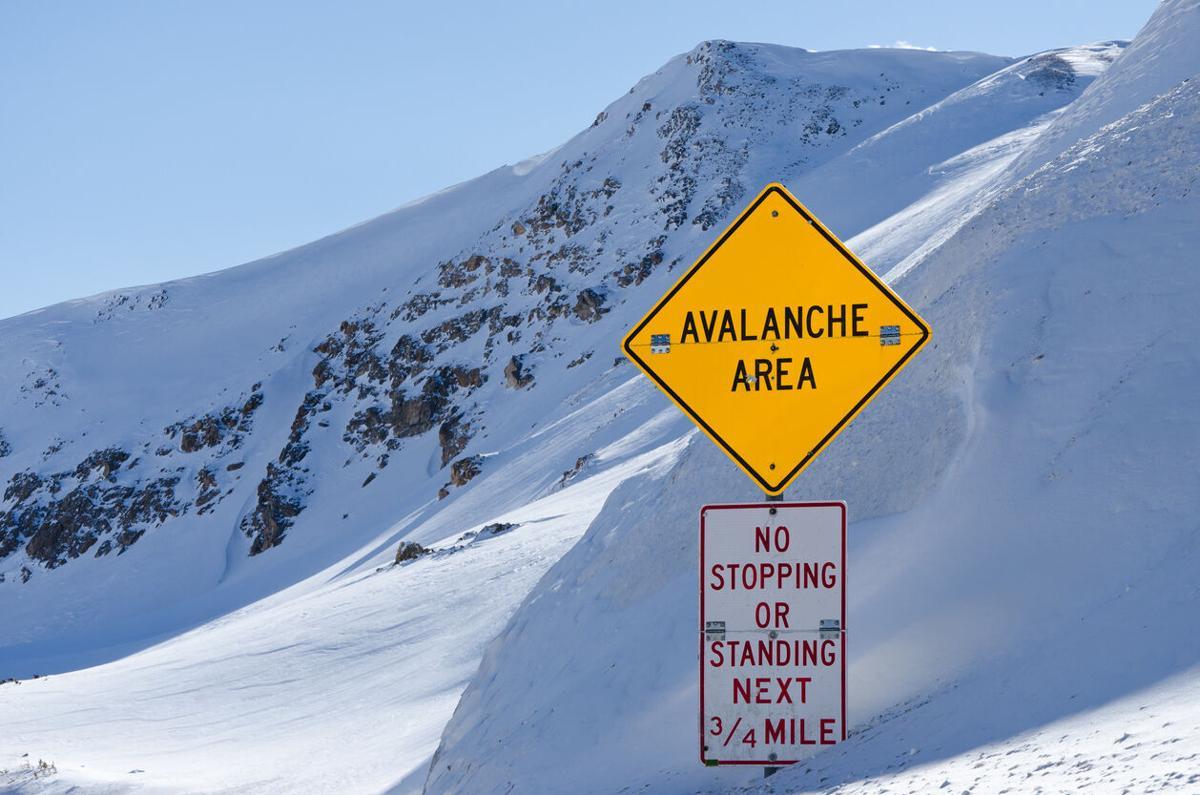 Avalanche Area Sign Photo Credit: Adventure_Photo (iStock).