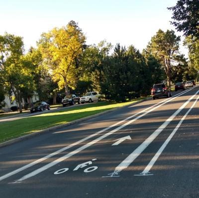 Bike lanes on Cascade (copy)