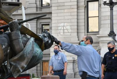 Colorado State Capitol Civil War Statue