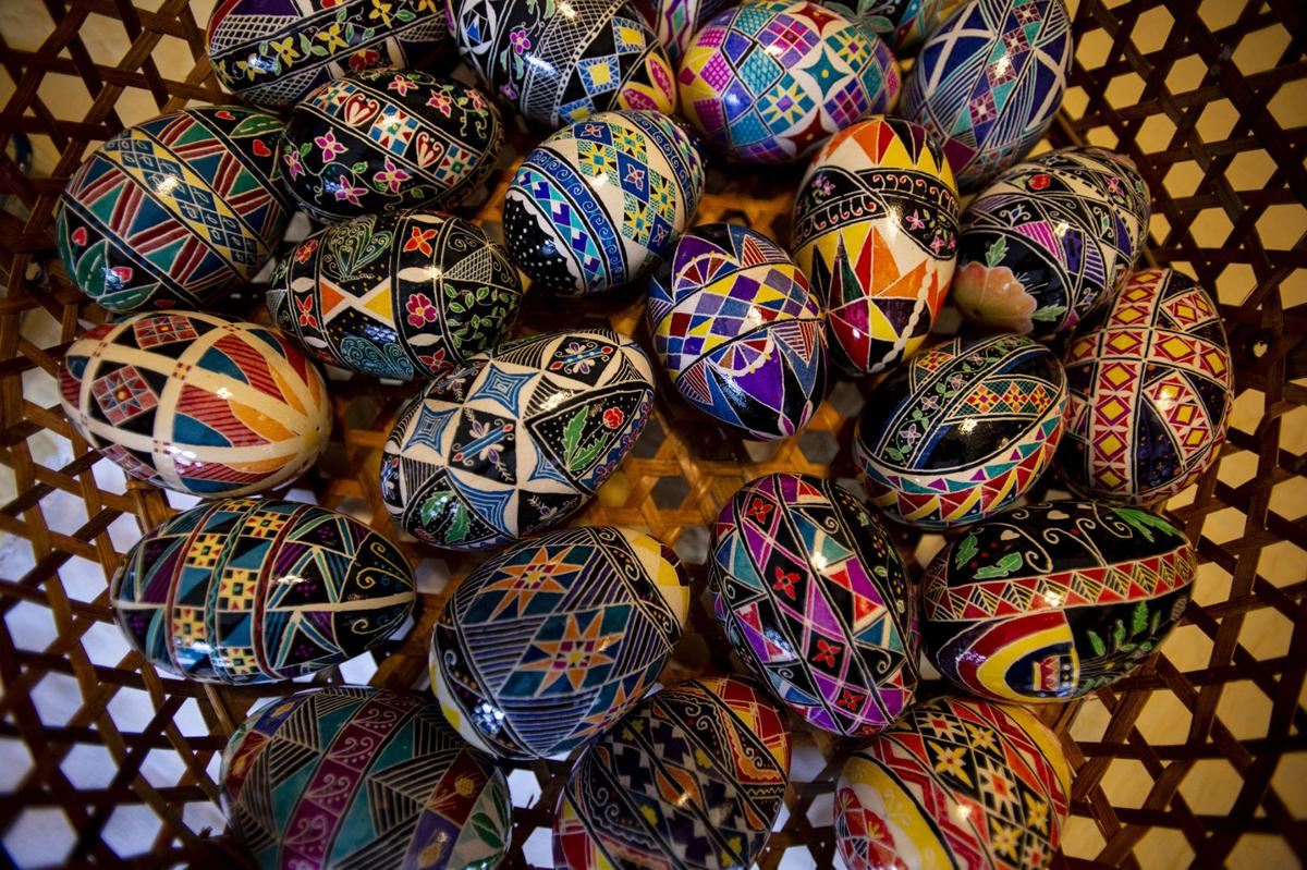 Ukranian Easter eggs have a special place in Springs artist's heart