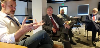 Congressman Doug Lamborn visits the Family Care Center