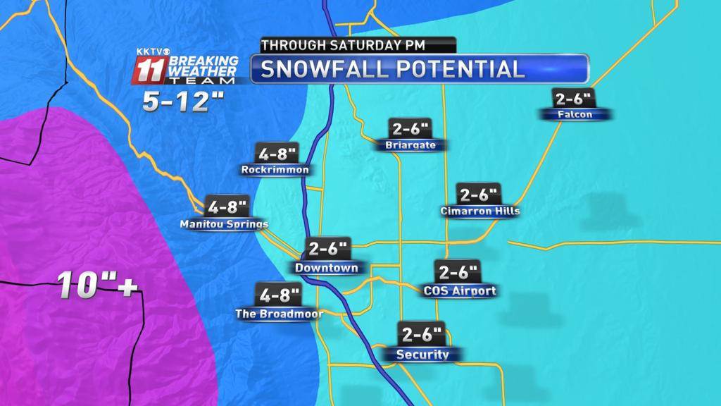 Snowfall beginning for some in region, snow totals might be