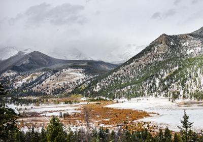 Horseshoe Park in Rocky Mountain National Park