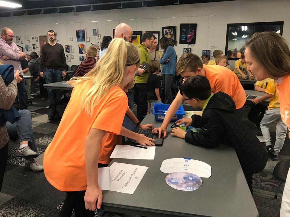 Lewis-Palmer Elementary's Lego Robotics Team grabs second place