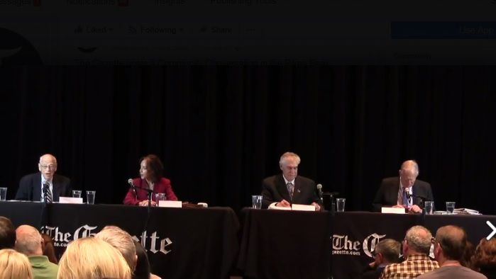 Community Conversation on tax cuts today with The Gazette, Colorado Politics