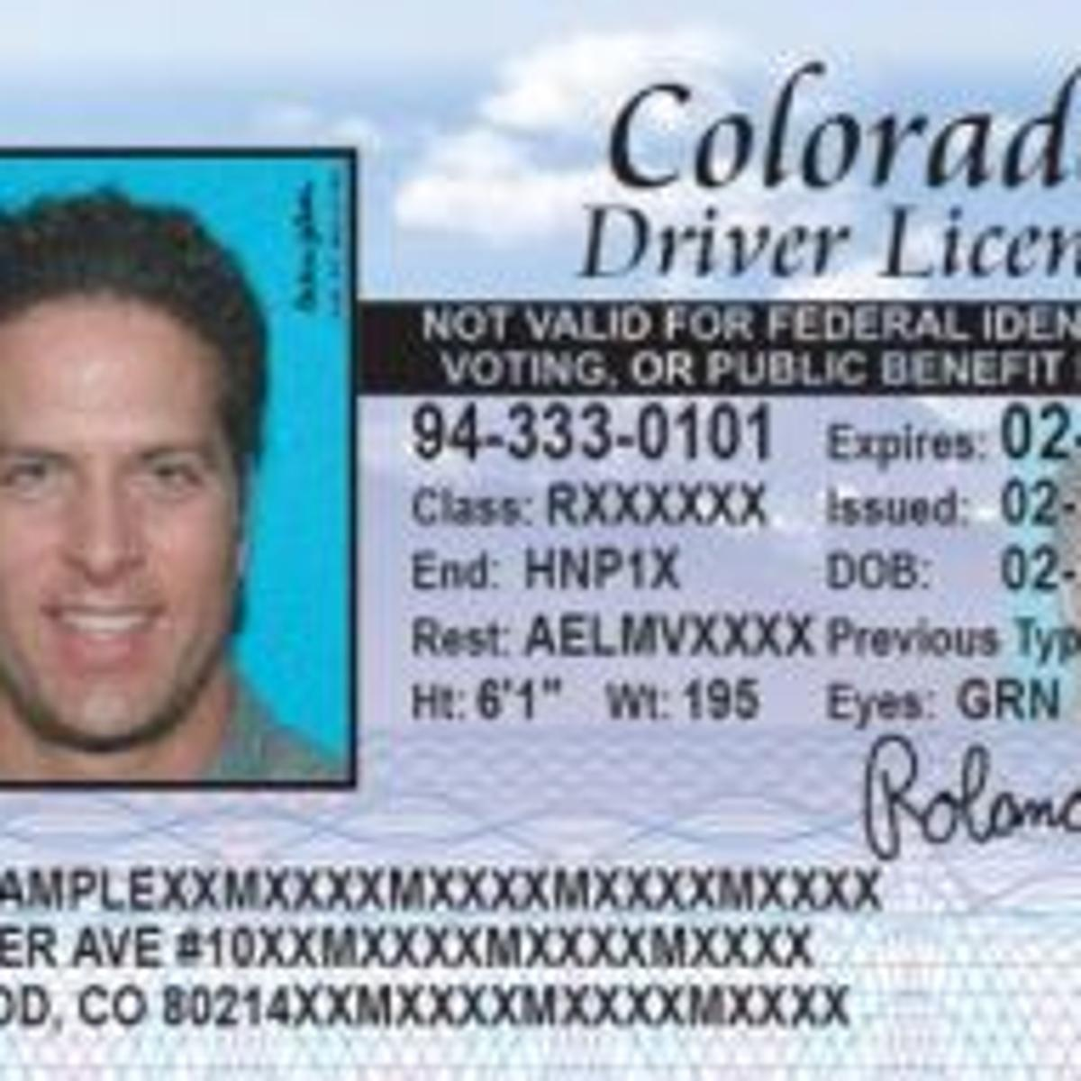 driving license test colorado springs
