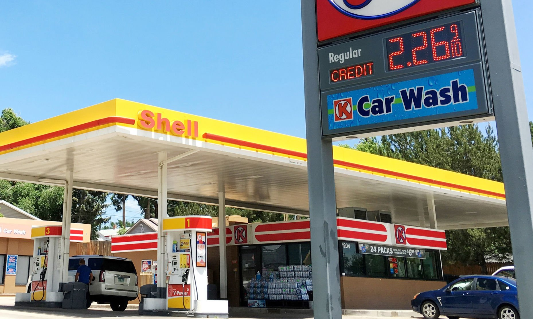 colorado springs gas prices have been climbing for weeks is a rh gazette com