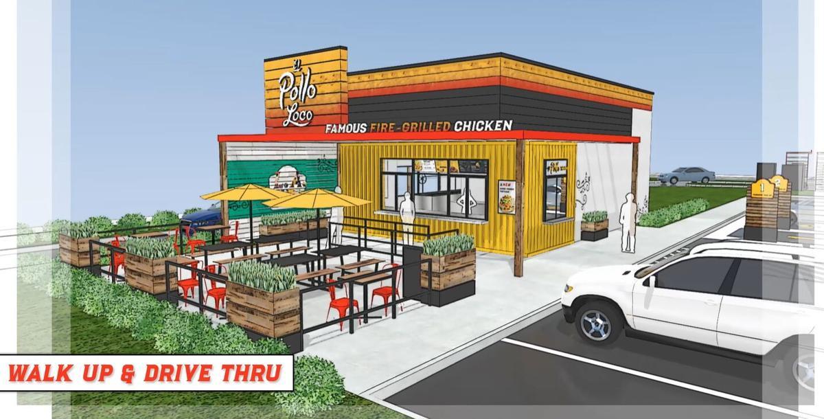 El Pollo Loco-no indoor dining design