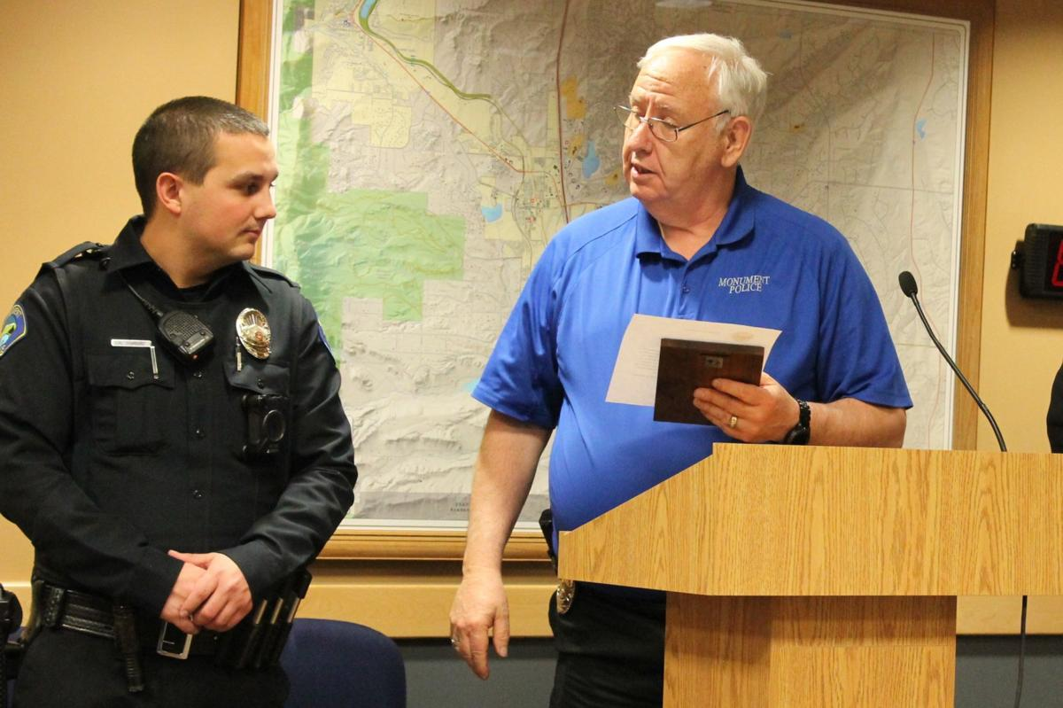 Officer Andrew Romao honored as April Employee of the Month