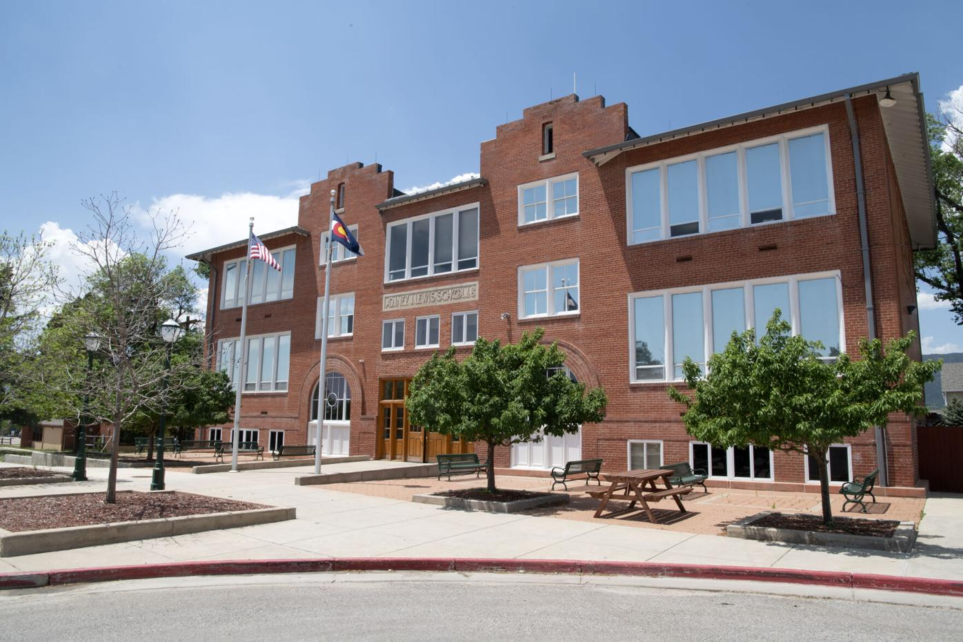 Lewis-Palmer School District 38 administration building