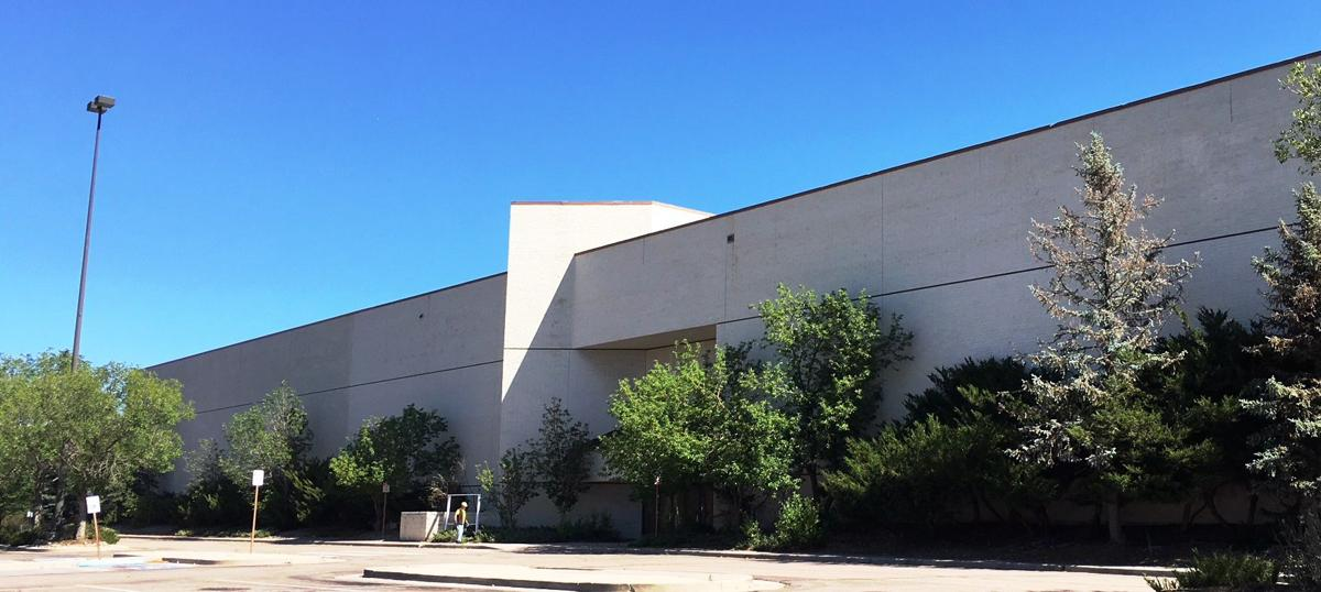Former Macy's store at The Citadel mall