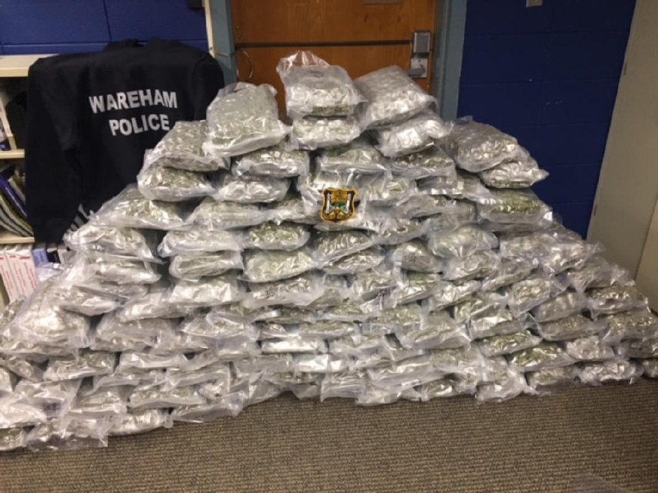 Man arrested after showing up to claim marijuana shipment