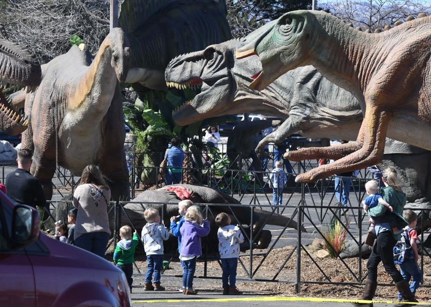 Dinosaurs come alive at animatronic Jurassic Quest in Colorado Springs