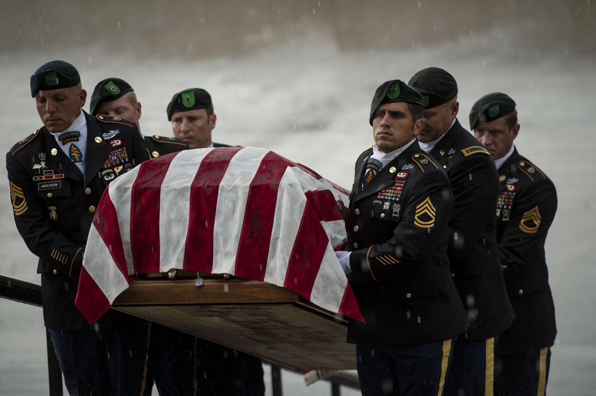 "Maj. James G. ""Ryan"" Sartor funeral service"