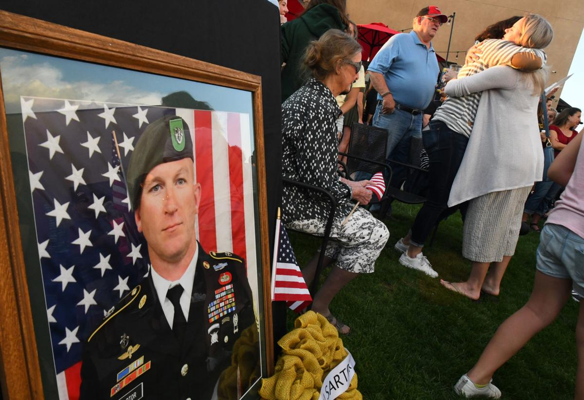 Falcon honors fallen Green Beret — 'he was the best man that I've