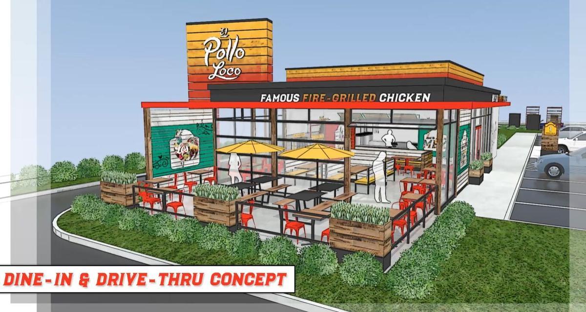 El Pollo Loco-small indoor dining design