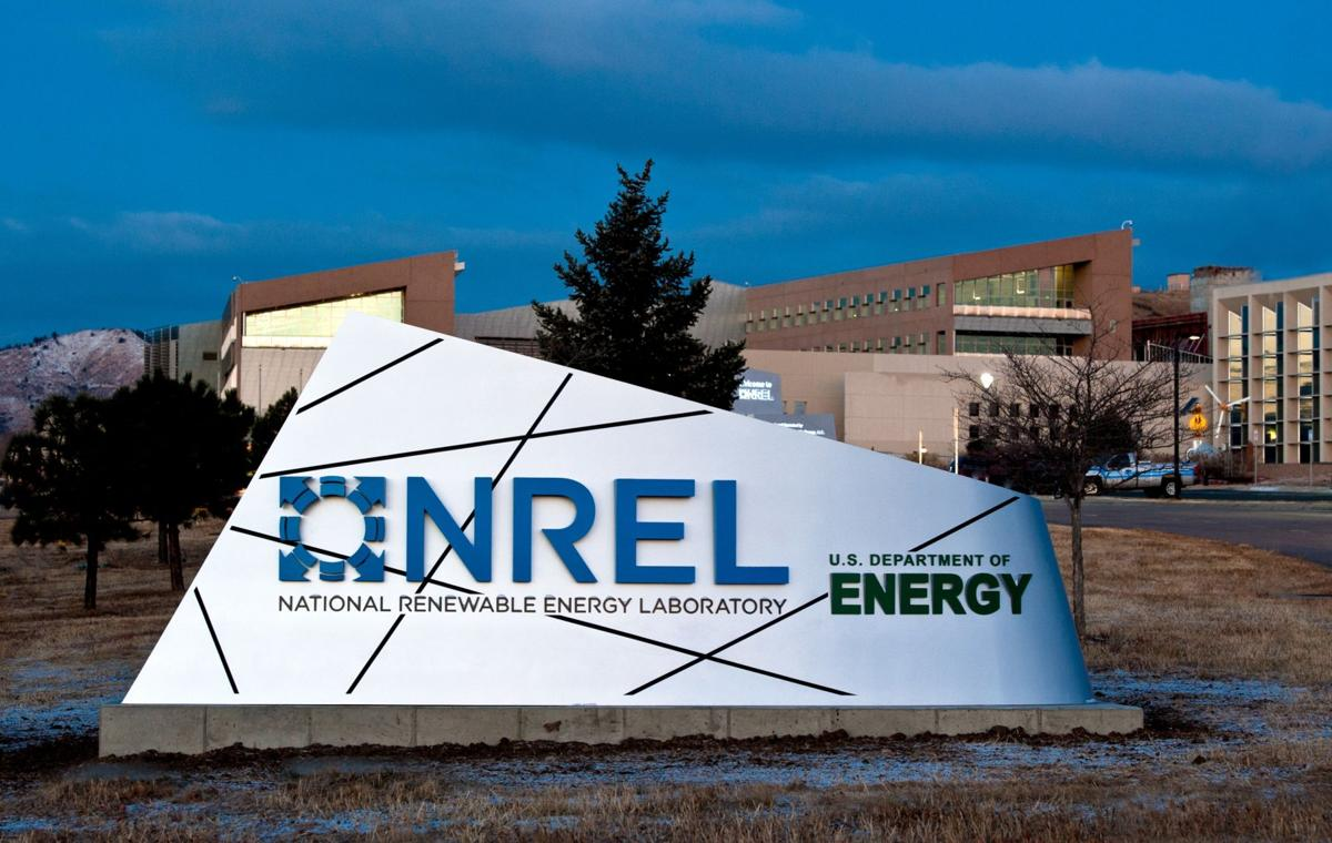 A new sign greets visitors to NREL's campus