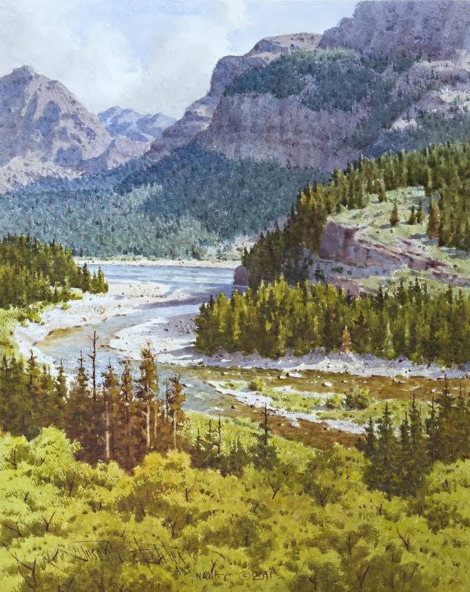 August in Many Glacier by Joseph Bohler.jpeg