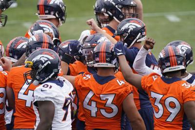 Broncos Rookie Camp Football