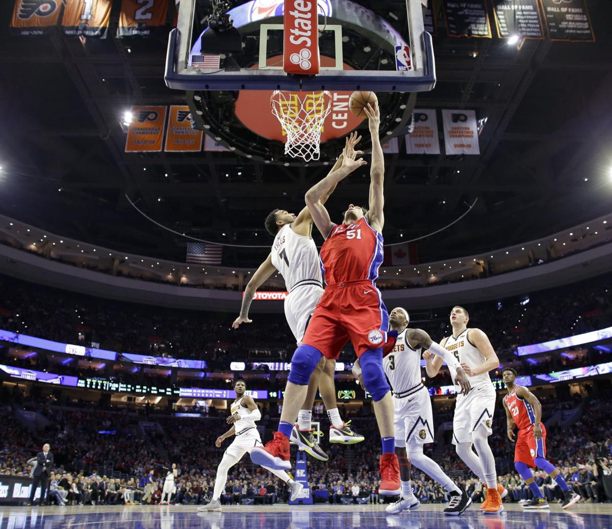 New-look 76ers Outlast Nuggets