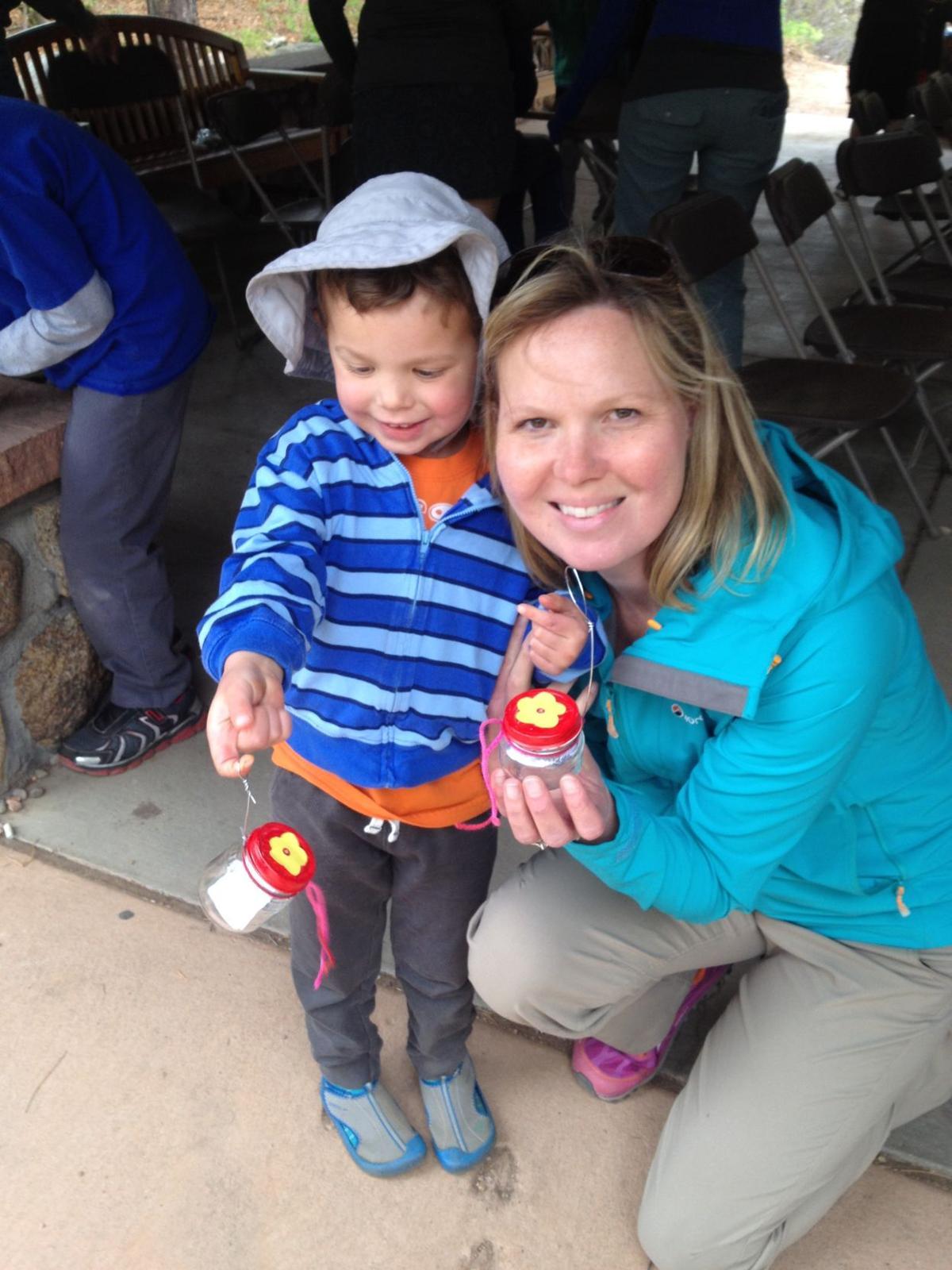 Cheyenne Edition columnist and resident of the Cheyenne Cañon neighborhood Joanna Zaremba and her son, Steven