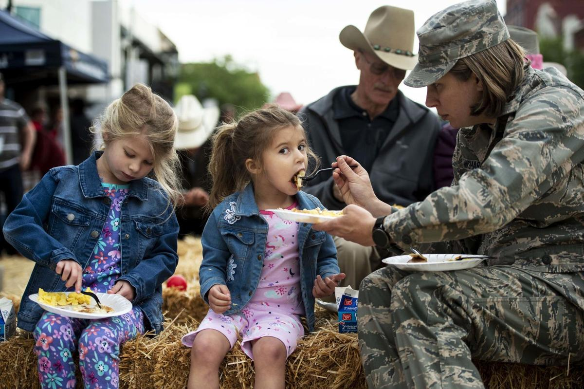 Annual Western Street Breakfast draws thousands to benefit area military