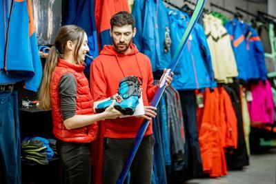 ski skiing shop sports