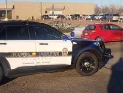 Pueblo Police cruiser