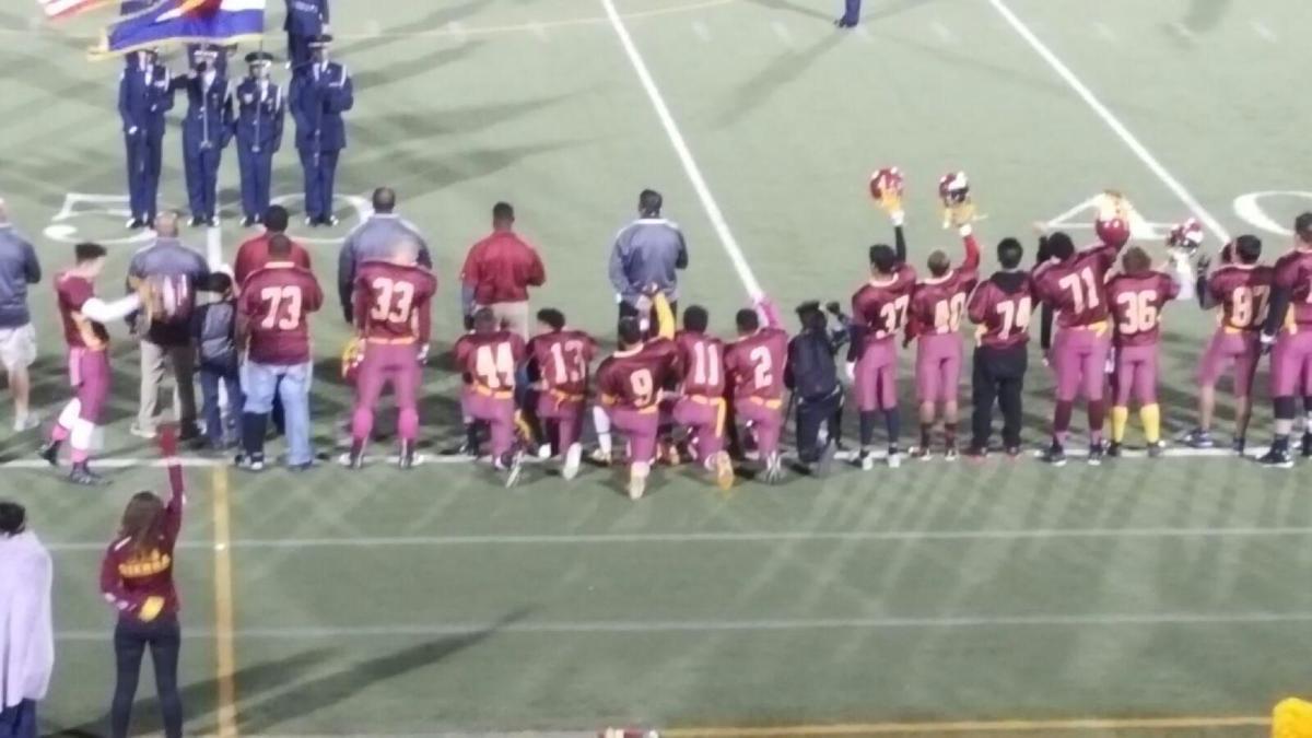 David Ramsey: Kneeling for national anthem has arrived in Colorado Springs