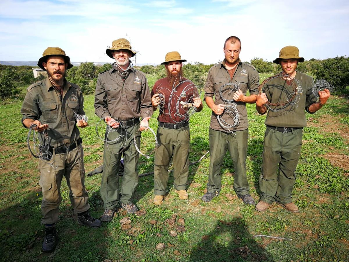 The snares we located and deactivated after a two day mission.JPG