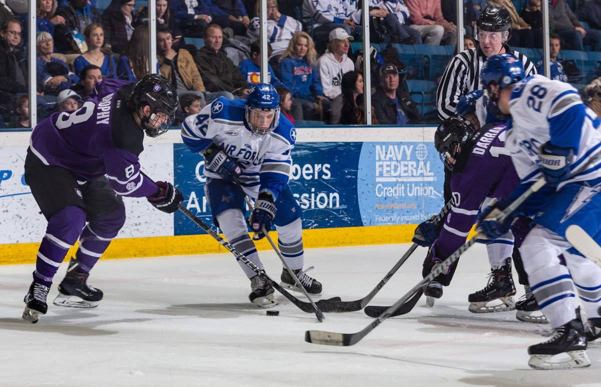 Air Force puts up a fight against Holy Cross before falling in overtime