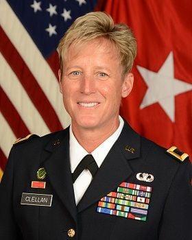 Brigadier Gen. Laura Clellan