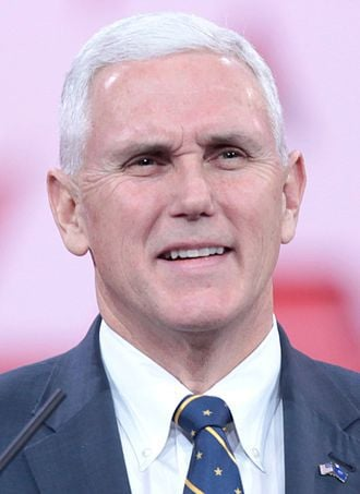 What church does Mike Pence belong to?
