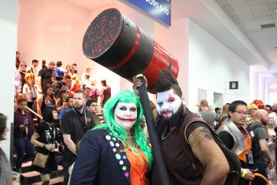 Denver Comic Con 2017 Day 3 - Celebrities and cosplayers