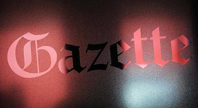 Gazette Lights Stock Photo