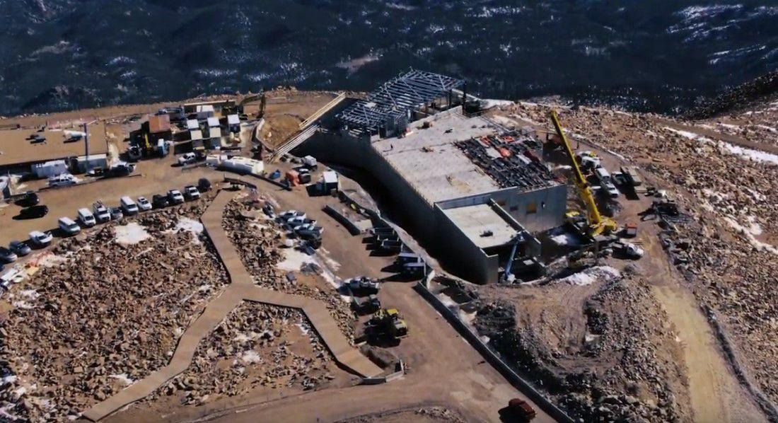 VIDEO: Watch all the progress on the Pikes Peak Summit House that took place in 2019